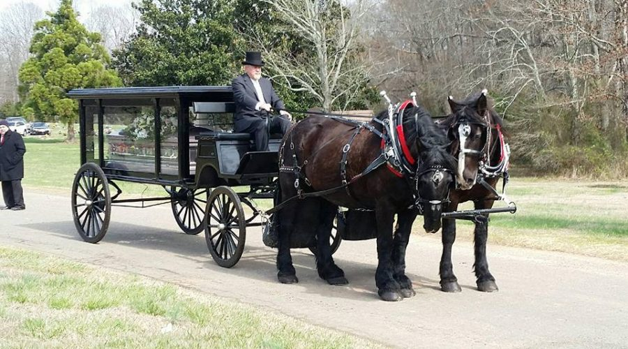 For A Funeral Carriage Near You Click Here