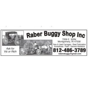 Raber Buggy Ad